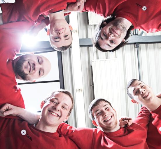 Employer Branding Agentur entwickelt Arbeitgebermarke von Carl.
