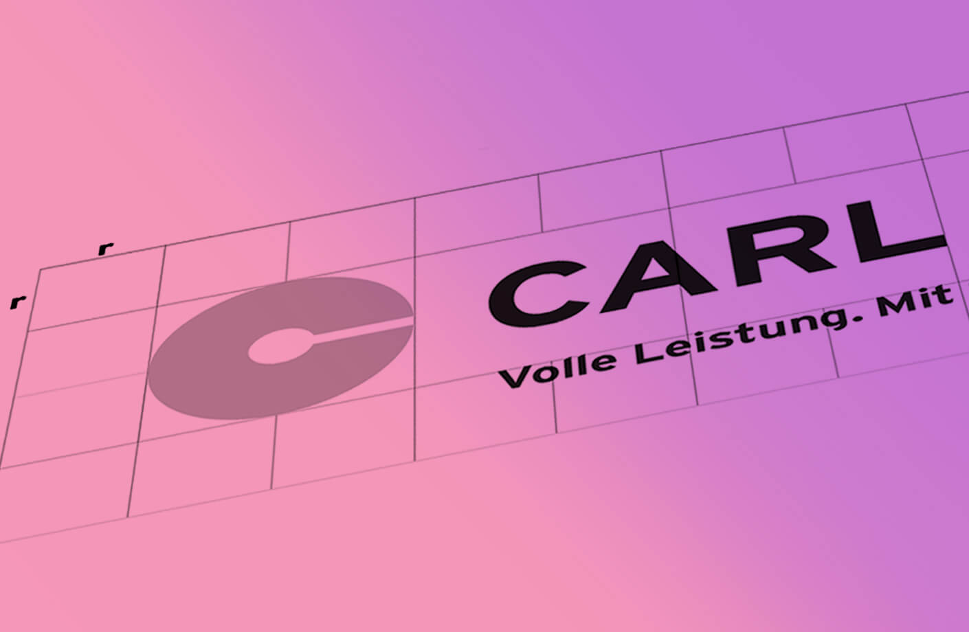 Bild des Carl Logos als Beispiel für Branding durch Agentur